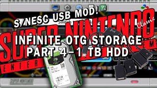 SNES Classic USB Mod | Part 4 - 1 TB HDD