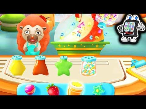 LITTLE PANDA MINI GAMES Baby Panda deutsch - LECKERES EIS SELBER MACHEN!Kinderapp - Spiel mit mir