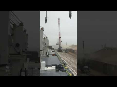 Eurus Venture discharging operations in La Pallice France
