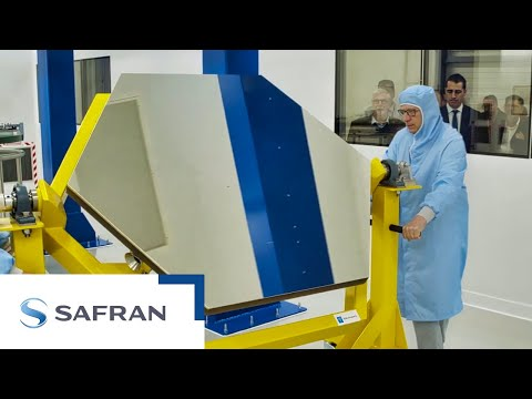Safran inaugurates a new Factory 4.0 to make primary mirror segments for the ELT