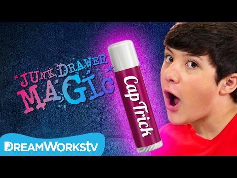 Chap Stick Cap Trick | JUNK DRAWER MAGIC