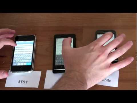 AT&T vs. Verizon vs. T-Mobile- Network Speed Test