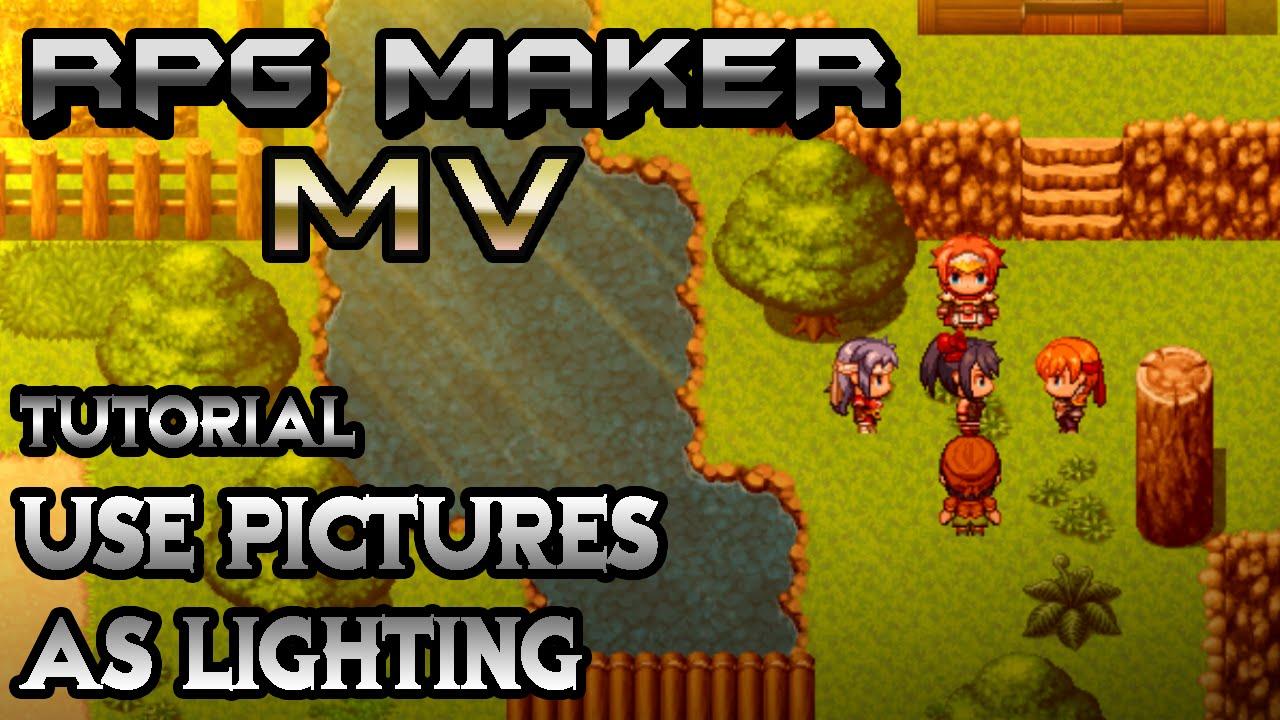 RPG Maker MV Tutorial: Epic Picture Lighting!