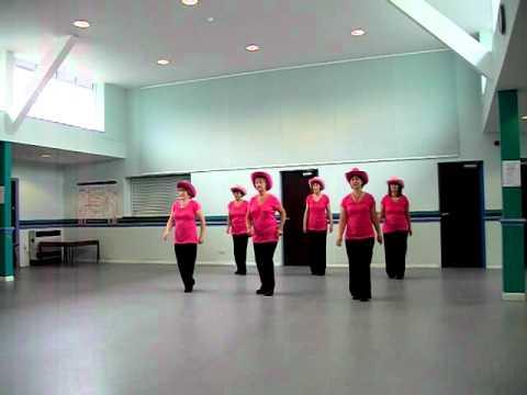 Saints-inline  AB Rocker line dance