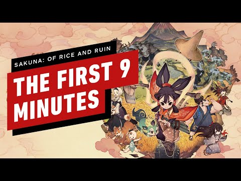 Sakuna: Of Rice and Ruin: The First 9 Minutes | gamescom