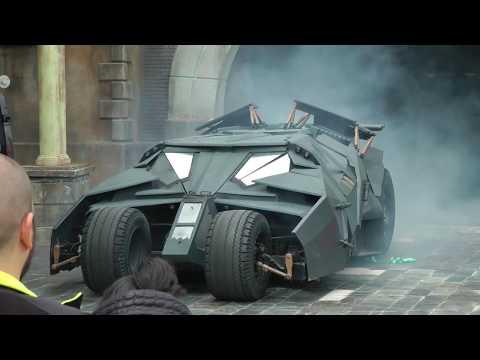 Parque Warner Madrid -  Gotham City Stunt Show 🦇