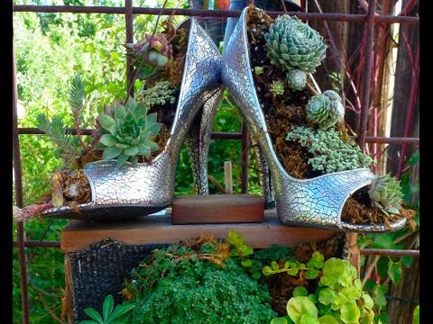 DIY Garden Ideas on a Budget - YouTube