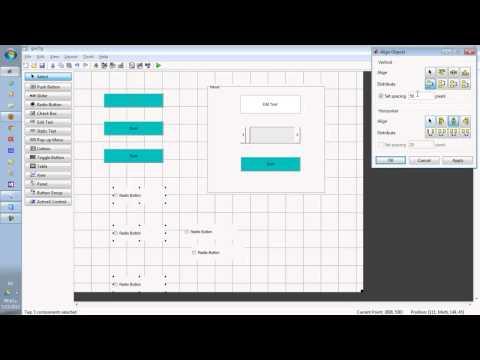 برمجة واجهات المستخدم الرسومية - الأسبوع الأول MATLAB GUI - Graphical user interface