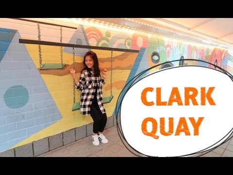 VLOG #5 | SINGAPORE TRIP - DAY 1 : CLARK QUAY SIGHTSEEING
