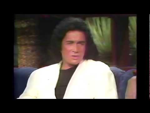 1988 KISS TV Interview Gene Simmons & Paul Stanley on The Late Show starring Ross Shafer