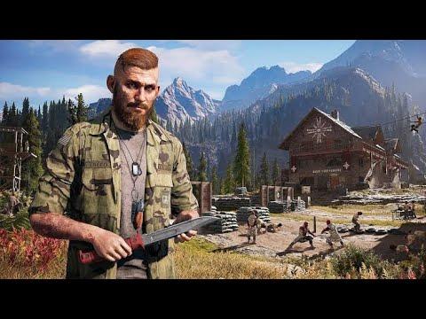 Enfrentando o Jacob - FAR CRY 5 - Bugado Gameplay ao Vivo thumbnail