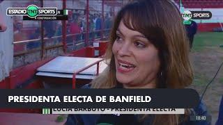 Lucía BARBUTO Presidenta de BANFIELD:
