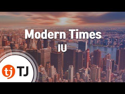 Modern Times_IU 아이유_TJ노래방 (Karaoke/lyrics/romanization/KOREAN)