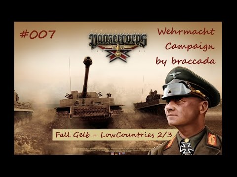 Panzer Corps Wehrmacht on Rommel #007 - Low Countries (2/3)