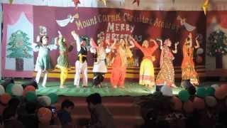 Nachoonga - Sheldon Bangera / MCCA senior kids perform on the song