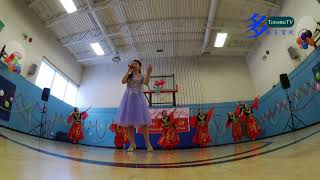 20171230, cpwc new year party, chinese dance, 加拿大中國專業婦女協會