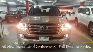 Toyota Land Cruiser 2018 - Top of the Range Complete Interior & Exterior Review