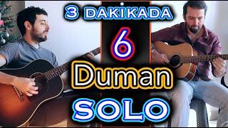 3 Dakikada 6 DUMAN SOLOSU (ft. Cem Şahin)