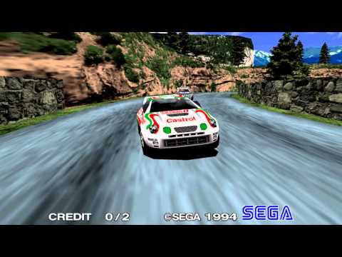 Sega Rally Championship: Attract mode (1080p60)