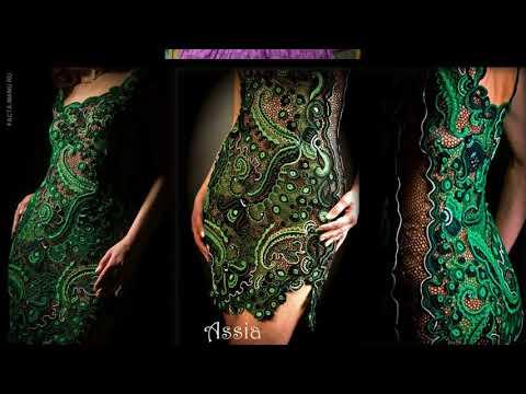 Платья ирландское кружево крючком фото