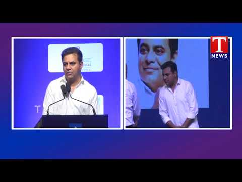 KTR Attends Go Beyond  Aspire to Inspire Conference | Madhapur | T News Telugu