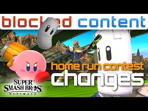 3.0 Update HOME RUN Contest CHANGES - Super Smash Bros. Ultimate thumbnail