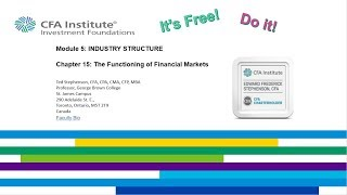 Chapter 15 CFA Institute Investment Foundations