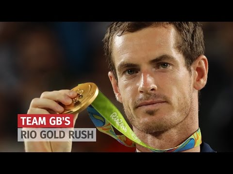 Team GB's Rio Golds - The Final Tally Of Olympic Victors