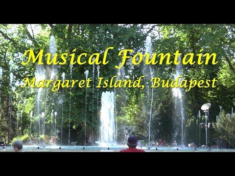 Musical Fountain, Margaret Island, Budapest, June 2016