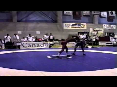 2000 Junior National Championships: 69 kg Josh Powell vs. Unknown