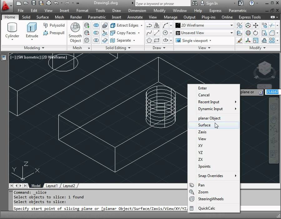 Autocad 2012 video tutorial 3d design how to copy for Copy cad