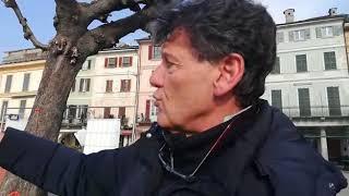 Orta San Giulio, il sindaco Giorgio Angeleri sui lavori in corso in piazza Motta