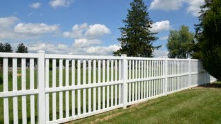 How To Install A Vinyl Fence