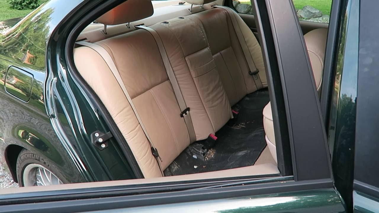 e39 rear seat removal