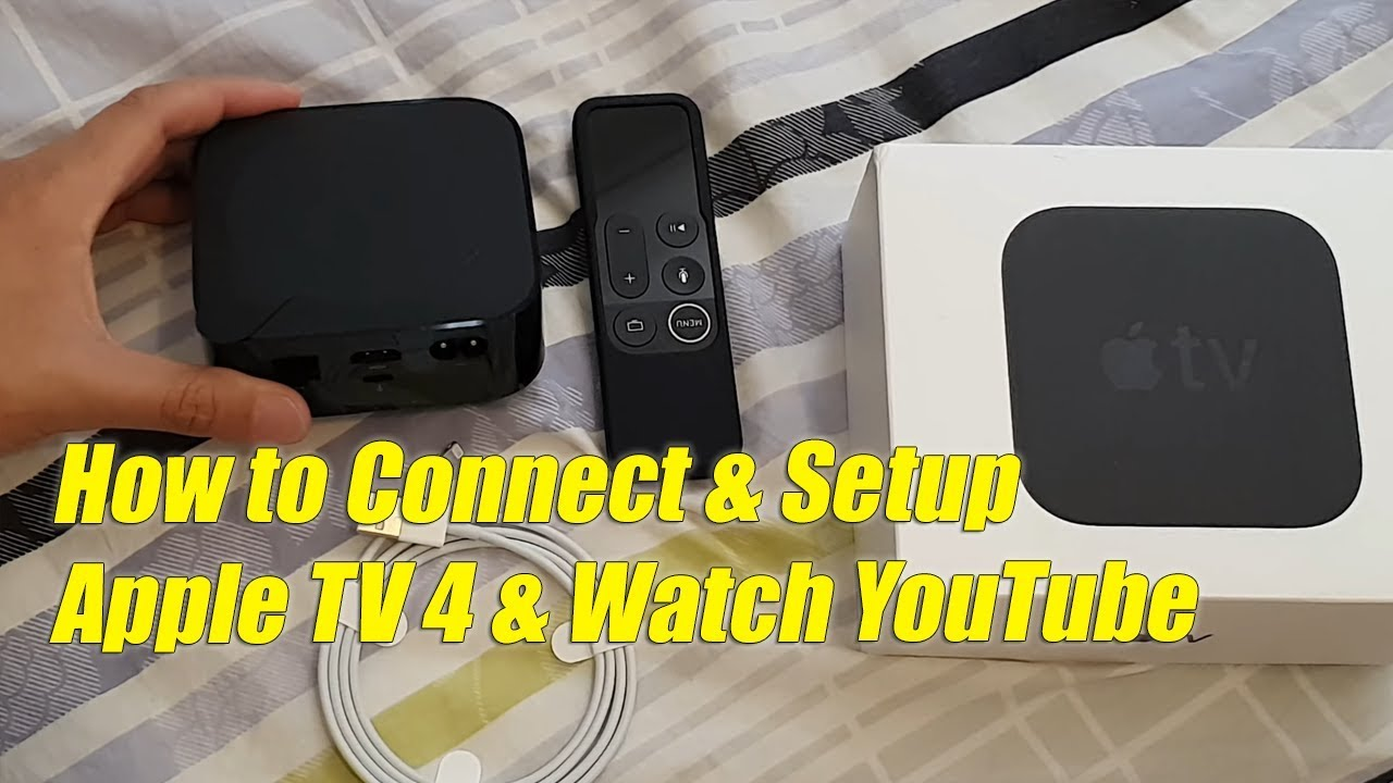 How to Set Up Apple TV 4K and Watch YouTube (Manual Setup) - YouTube