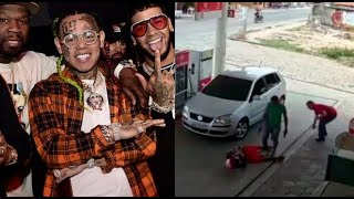 6IX9INE & Meek Mill Affilate Anuel Robbed Gun Point 2 Dead (Caught On Tape)..DA PRODUCT DVD