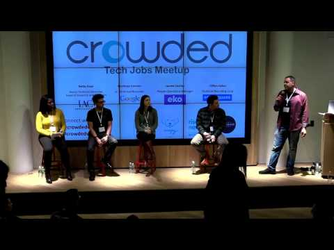 Crowded Tech Jobs Meetup 1/25/17