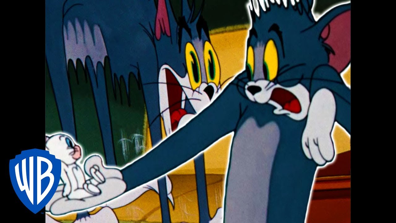 Tom & Jerry | Scary Tom & Jerry! | Classic Cartoon Compilation | WB Kids