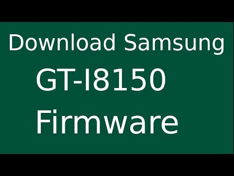 How To Download Samsung Galaxy W GT-I8150 Stock Firmware (Flash File) For Update Android Device