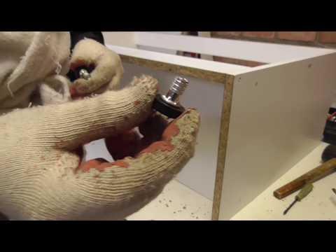 Мебель своими руками. Как сделать тумбу под умывальник