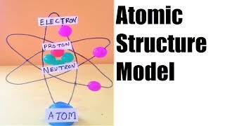 atomic structure 3D model for school science exhibition | fair