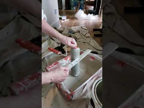 Cleaning paint roller easy tip