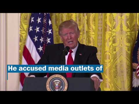 Thumbnail: Donald Trump's grievance-filled news conference, in less than 5 minutes