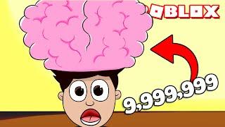 CEREBRO de 9,999,999 METROS en ROBLOX !!