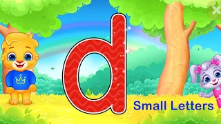 Small Letters abc  Draw Alphabets  Big Letters  Pre KG Learning Videos  LKG Learning  Nursery