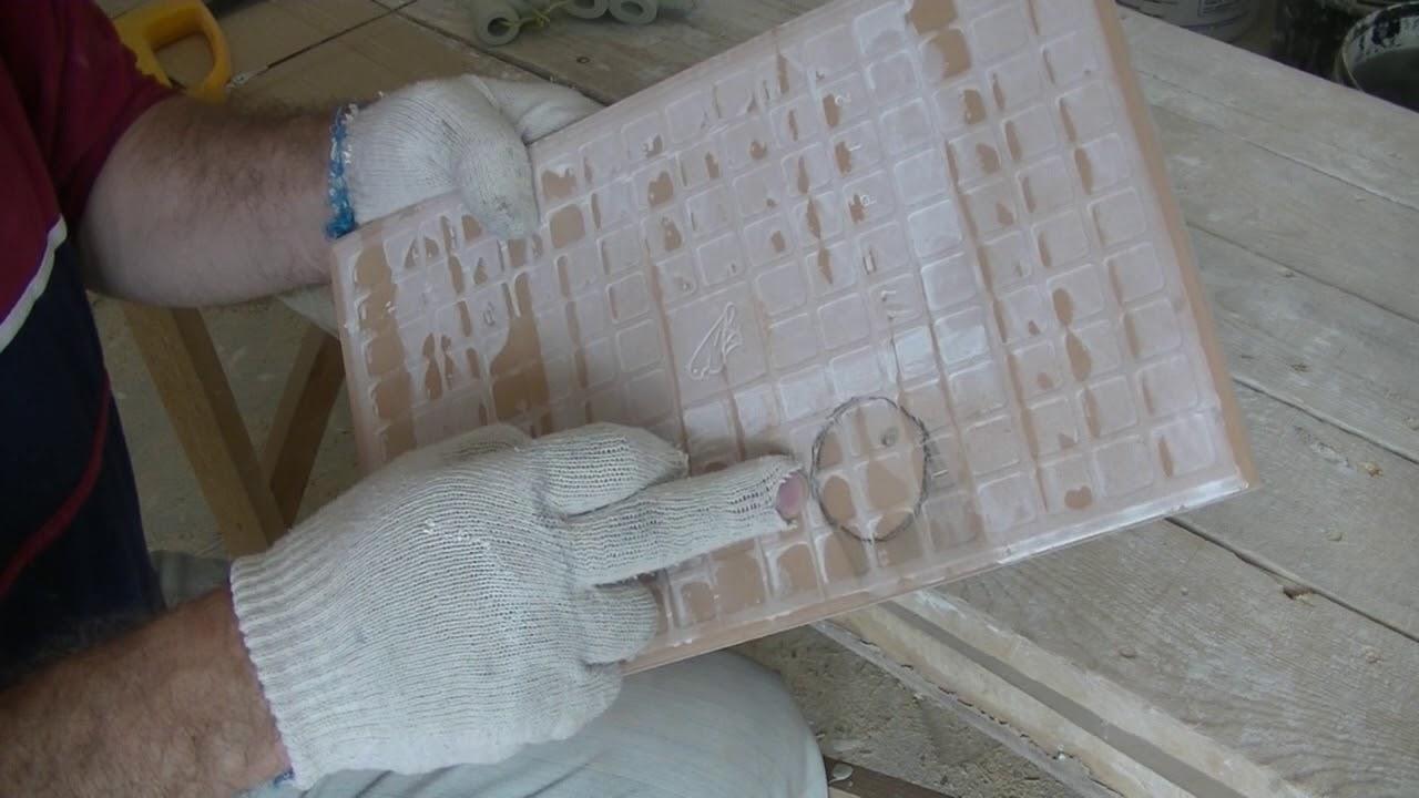 Как самому сделать керамическую плитку фото 710