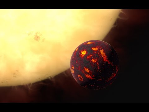Standing On 55 Cancri E - The Diamond Exoplanet