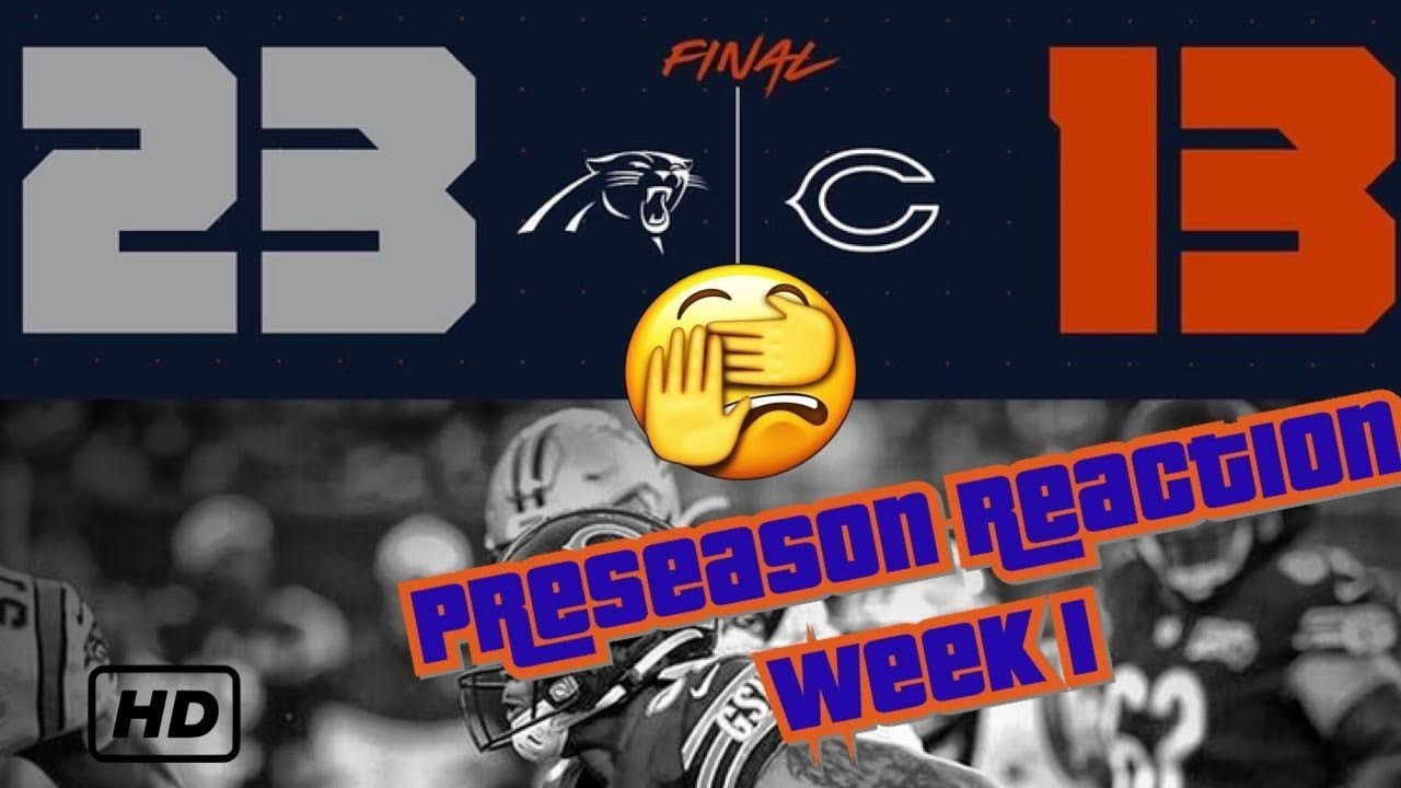 Bears drop preseason finale