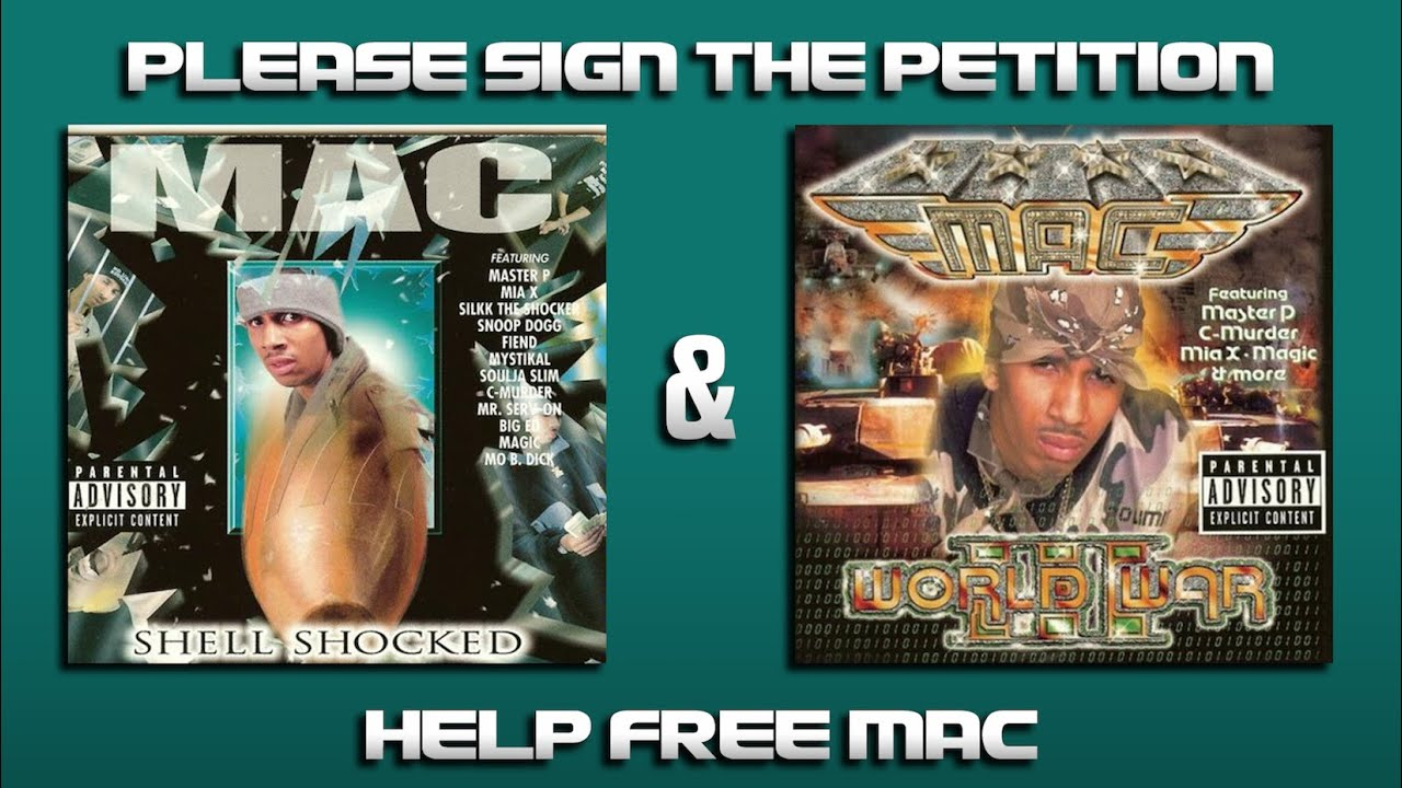 Help Free Mac (Former No Limit Soldier) by Signing This Petition