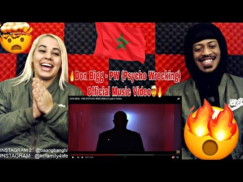 DON BIGG - PW ( PSYCHO WRECKING ) REACTION 🔥🇲🇦 THIS MOROCCO SONG WAS CRAZY! WATCH!
